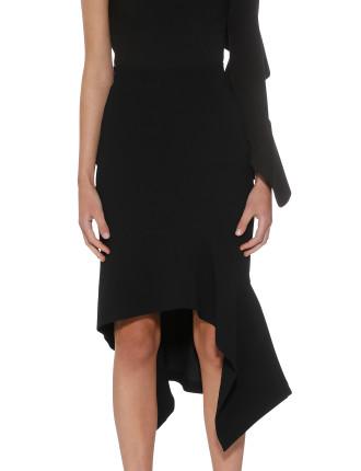 Midnight Panel Midi Skirt