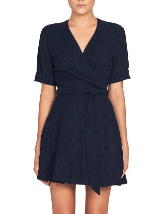 Magnolia Tie Wrap Dress