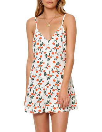 Orangina Mini Dress