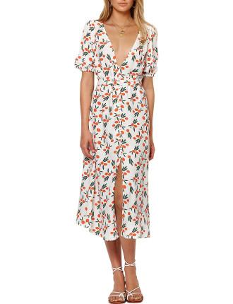 Orangina Midi Dress