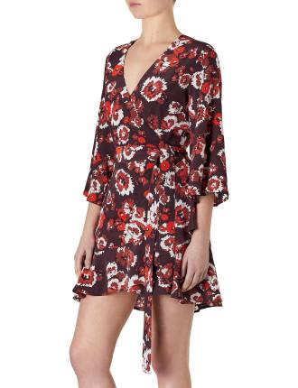 Peninsula Wrap Dress