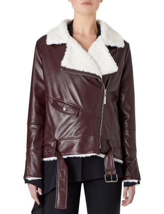 Wolfgang Leather Jacket