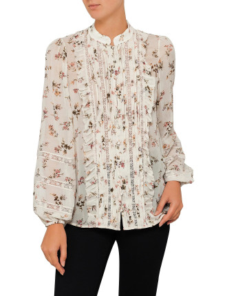Whitewave Pintuck Blouse
