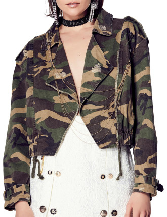 In For The Kill Bomber Jacket