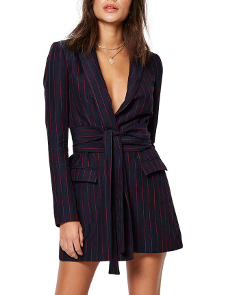 Mia Wrap Blazer Dress