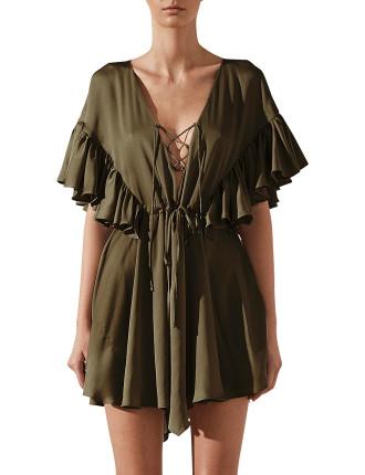 Zephyr Ruffle  Mini Dress
