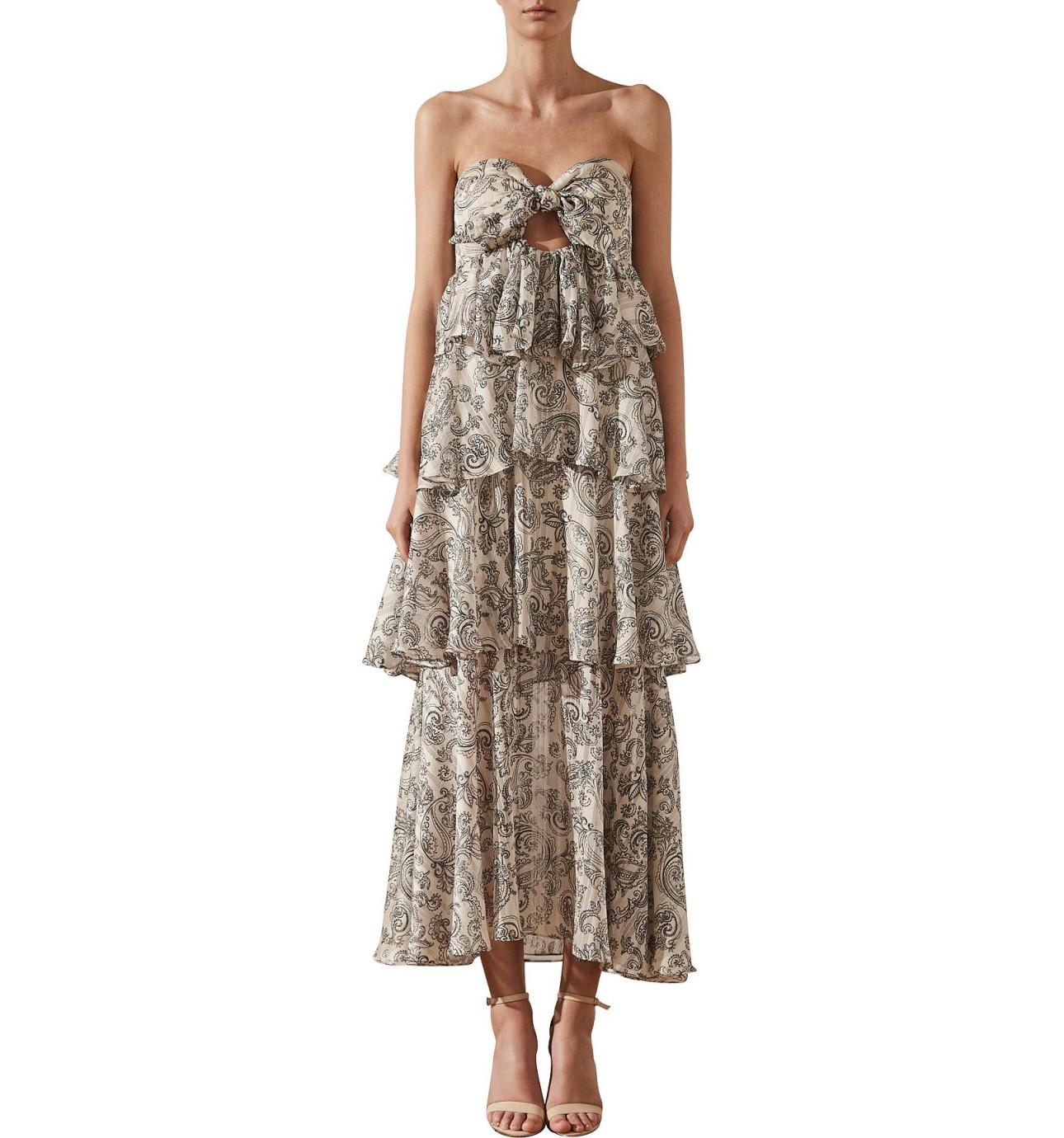 Shona joy dresses david jones marea tiered maxi dress ombrellifo Gallery