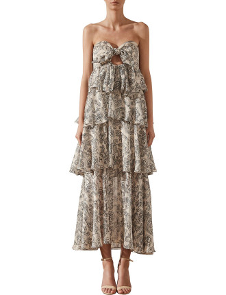 Marea Tiered Maxi Dress