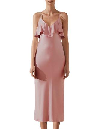 Bias Frill Dress