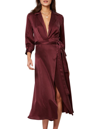 Linda Wrap Dress