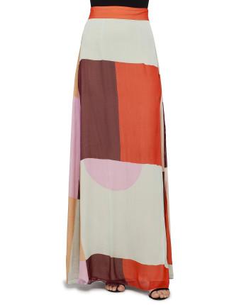 Rhythm A Line Maxi Skirt