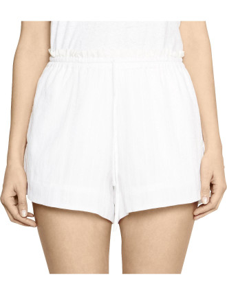 Peso Short Sheer Stripe Short