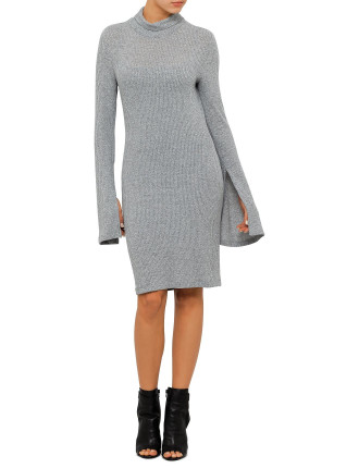 Buckaroo Mini Long Sleeve Dress