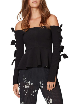 Knotted Petals Top