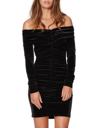 Midnight Sage Mini Dress