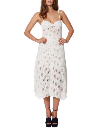 Gypsy Lace Midi Dress