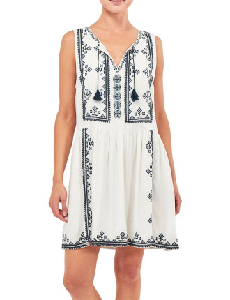 Bacolet Sleeveless Dress