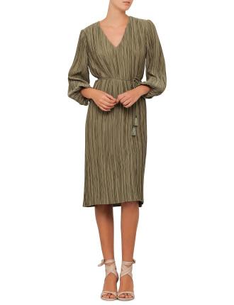 Karmic Plisse Dress