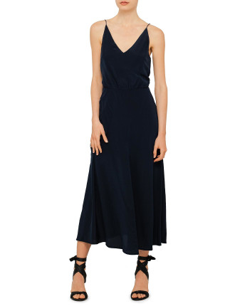 Silk V Picnic Dress