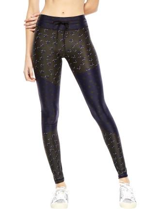 Khaki Stars Yoga Pant