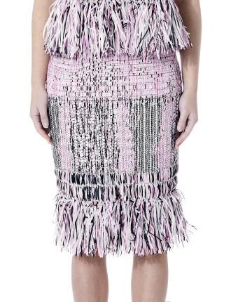First Love Fringe Skirt