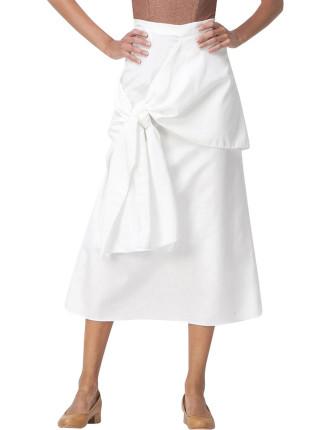 Ready Or Knot Midi Skirt
