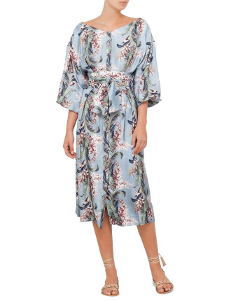 Winsome Button Down Dress