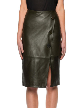 Reckoning Leather Skirt