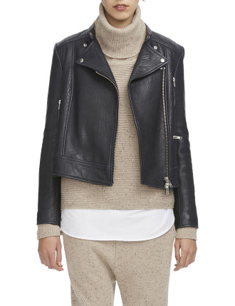 Tempo Leather Jacket