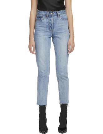 Margot Cropped Straight Leg Jean