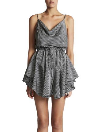 Mirage Cowl D/String Mini Dress
