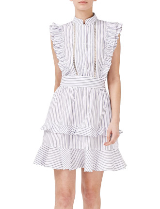 Stripe Shirting Mia Dress