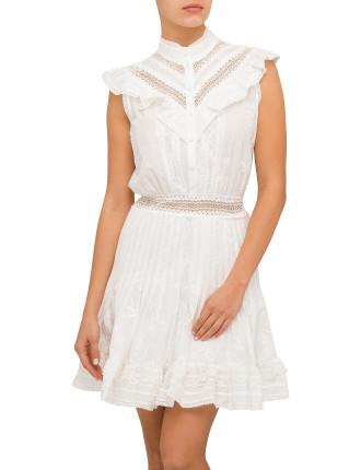 Tulsi Lace Flutter Dress