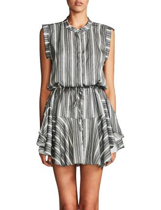 Phoenix D/String Mini Shirt Dress
