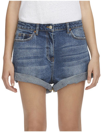 Delphine Denim Short