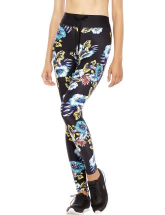 Electric Floral Yoga Pant