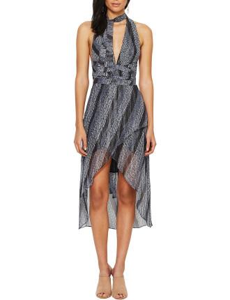 Jewel Of Sea Plunge Dress