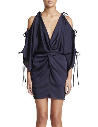 Twist Kimono Mini Dress