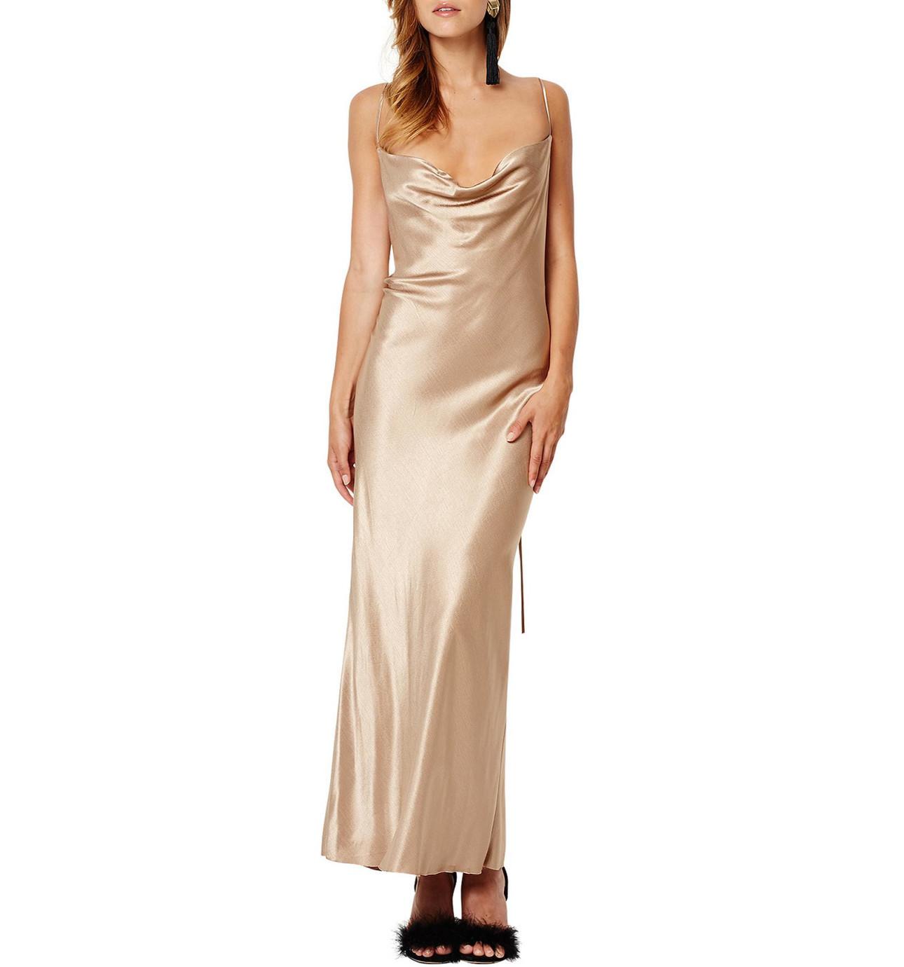 White dress david jones - Shimmy Nights Cowl Midi
