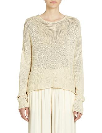 Maura Crop Knit Sweater