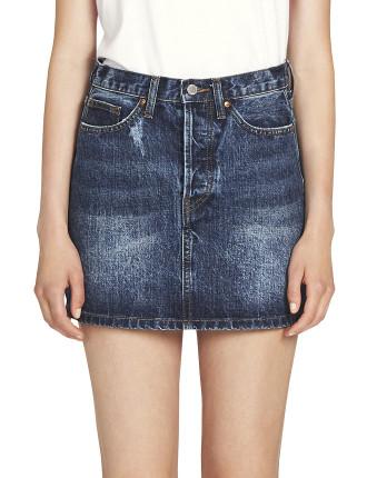 Beatrix High Waisted Mini Skirt
