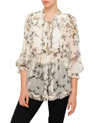 Maples Frill Top