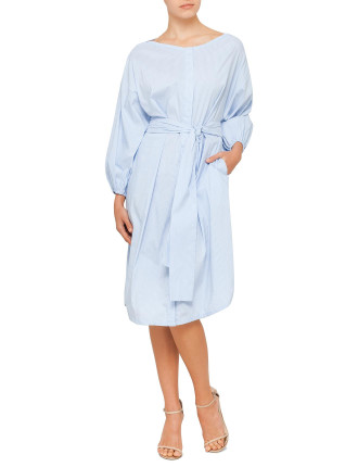 Folly Tie Shirt Dress