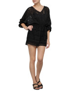 Allure Long Sleeve Broderie Tuck Playsuit $245.00