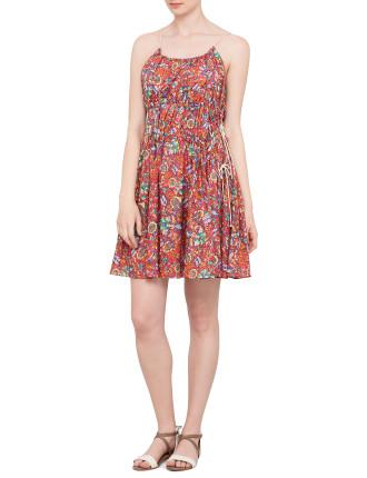 Drifter Sleeveless Picnic Dress