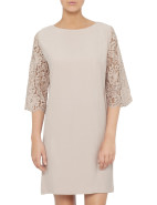 Crepe Lace Shift $206.00