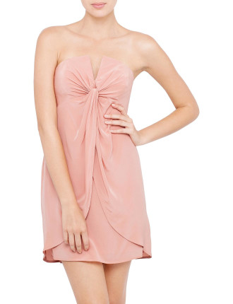 Silk V Dress