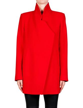 Felted Wool Full Length Wool Coat