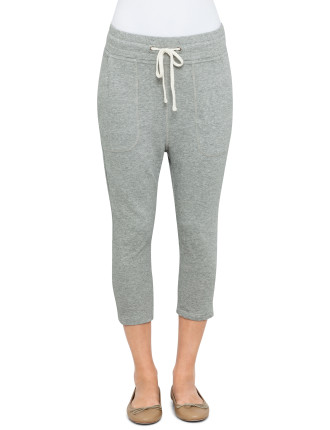 Cropped Slouchy Sweatpant