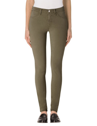 Luxe Sateen Mid Rise Super Skinny
